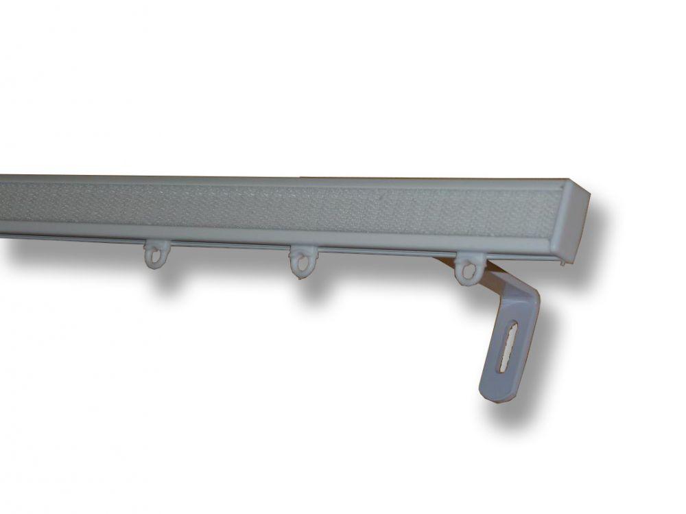 Egysoros alumínium karnis 2,5 cm magas